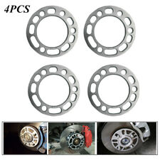Universal Alloy Aluminum 6MM Hub Wheel Spacers Shims Adaptor For 5/6 Stud Wheel