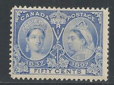 Canada stamps 1897 SG 134  MLH  VF