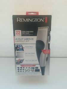 Remington A Cut Above Haircut Kit 22-Pieces Precision Clippers Brand New