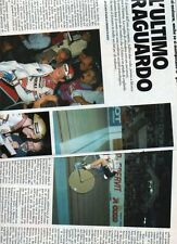 SP32 Clipping-Ritaglio 1987 Francesco Moser L'ultimo traguardo