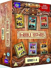 HORRIBLE HISTORIES - Complete Series 1-6 Box Set (NEW DVD R4)