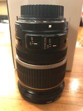 Canon EF-S 17-55mm F/2.0-8.0 AF IS USM Lens with filter.