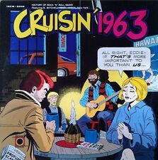 CRUISIN' 1963 - INCREASE LABEL - B. MITCHELL REED / WMCA - RADIO SHOW - 1984 LP