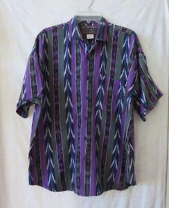 Guatemalan Cotton Woven Hand Made Shirt Mens Size M