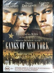 Gangs of New York DVD Region 4 Brand New & Sealed