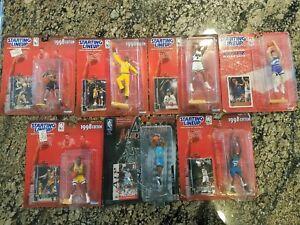 Starting Lineup 1998 Edition Kidd O'Neal Iverson Stockton Bryant Jordan Garnett