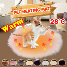 Pet Electric USB Heat Pad Mat Waterproof Blanket Dog Cat Bunny Bed Warm     AU