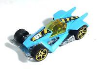 Hot Wheels RD-06 RD06 Acceleracers Double Jump Duel Race Car Blue Thailand 2004