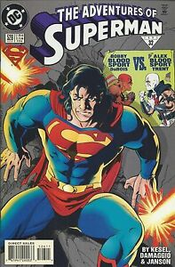 Adventures Of Superman Comic 526 Cover A First Print 1995 Karl Kesel Janson DC .