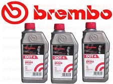 Set of 3  Brembo DOT-4 Brake Fluid (3-Liters)