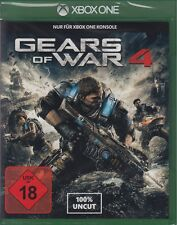 Gears of war 4-xbox one - 100% uncut-NEUF & OVP-version allemande!