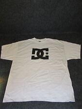 Hombre Auténtico DC Moda Informal skate bmx MX Camiseta S M L XL XXL CREMA { 54