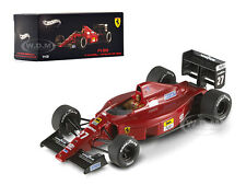 FERRARI F1-89 #27 NIGEL MANSELL HUNGARY GP 1989 ELITE 1/43 BY HOTWHEELS X5517