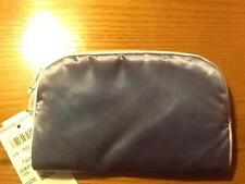 LEONTINE LINENS BERGDORF GOODMAN COIN SMALL CASE TRAVEL COSMETIC $50 SALE TEAL