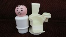 Fisher Price Vintage Little People Dentist and Dental Chair - Hard to Find Pcs.