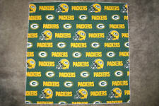 NFL GREENBAY PACKERS GREEN HEAD BANDANA / CHEERING CLOTH - APPROX. 22 1/2""