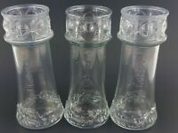 Red Lobster Lighthouse Drinking Glasses Cup Nautical Kitchen Decor Lot of 3 VTG