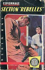 Arabesque Espionnage 89 - Alain Ray - Section Rebelles - EO 1959 - Jef de Wulf