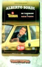 IL TASSINARO + UN TASSINARO A NEW YORK 2 DVD Ediz. Slipcase A.SORDI Usato BUONO