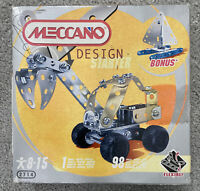 Meccano Design Starter Building Set 2714 1 Model 98 Pieces