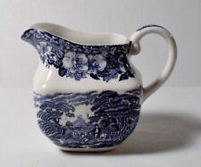 Enoch Wedgwood WOODLAND BLUE 6 oz Mini Creamer EXCELLENT