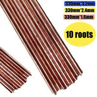10pc Mild Steel TIG Welding Filler Rods Wire 1.6/2.4/3.2mm Gas Welding