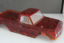 NEW CHEVY C-10 BODY FOR TRAXXAS STAMPEDE/STAMPEDE VXL/4X4/ 2WD- RED TIGER CAMO