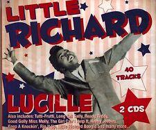 LITTLE RICHARD - LUCILLE - 40 SONGS - BRAND NEW SEALED 2 CD IMPORT SET