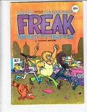 Freak Brothers #2 FN- (7th) rip off press GILBERT SHELTON underground comix