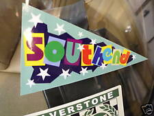SOUTHEND Holiday Pennant retro car window sticker