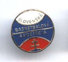 pin SLOVENSKA BASKETBALOVA ASOCIACIA / Slovakia Basketball Federation