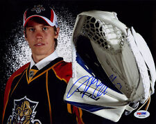 Jacob Markstrom SIGNED 8x10 Photo Panthers RookieGraph PSA/DNA AUTOGRAPHED