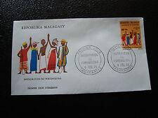 MADAGASCAR - enveloppe 9/12/74 - fokonolona - yt n° 552 - (cy7) (A)