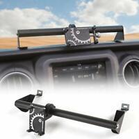 Dashboard Cell Phone Holder Rod Bracket for Jeep Wrangler JL 18+/Gladitor JT 20+
