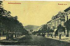 Transylvania 1909 Odorheiu Secuiesc,Székelyudvarhely,Kossuth street,animated R!