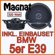 BMW 5er E39 - Lautsprecher - Magnat 320WATT BOXEN 2-WEGE EINBAUSET TÜR SYSTEM