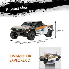 Original KINGMOTOR EXPLORER 2 1/8 Car 4WD Short Course+2.4G Transmitter US X1H1