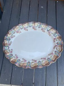 Antique Rare Aynsley Large Platter Circa 1883