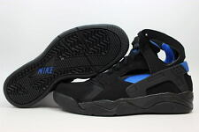 "Nike Air Flight Huarache ""Fab 5"" Retro OG UK 6 Black/Blue Jordan USA Olympic 92"