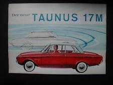 Prospekt DER NEUE TAUNUS 17 M Ford Werke AG Köln