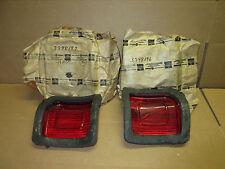 NOS Mopar 1973 1974 1975 1979 Dart Sport pair tail light lenses 3798196 3798197