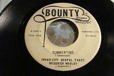 "Inner-City Gospel Party ""Summertime / Everybody Say Amen"" BOUNTY 7345 VG to VG+"