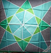 Carré Foulard Vintage LANVIN Figures géométriques années 80