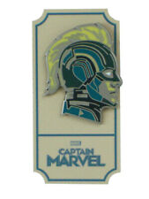 Captain Marvel Mondo Blue Variant Enamel Pin Matt Taylor Exclusive Marvel Comics