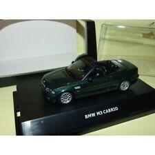 BMW M3 E46 CABRIOLET Vert MAXI CAR 1:43