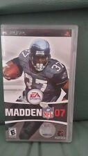 Madden NFL 07 PSP