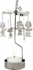 PEANUTS Candle Holder Merry Go Round F/S Japan Limited Snoopy Lucie Charlie