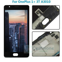 For Oneplus 1+ 3 3T A3010 LCD Display Touch Screen Digitizer Assembly + Frame