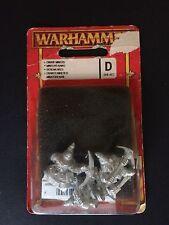 DWARF MINERS x3 WARHAMMER METAL 1993 MARAUDER Enanos mineros