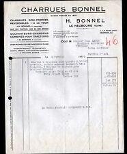 """LE NEUBOURG (27) CHARRUES AGRICOLES pour TRACTEURS """"H. BONNEL"""" en 1959"""